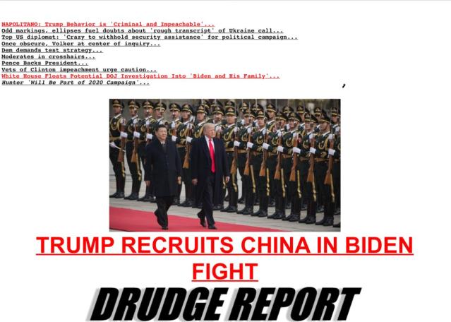 Drudge_China Recruitment